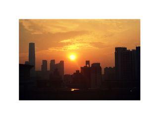 deepestemotions sunset cityskyline nofilter