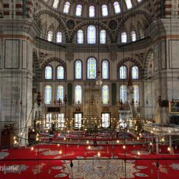 istanbul mosque fatih interior islam