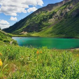 nature photography summer mountains landscape