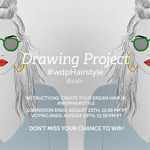 hairstyle contest drawing